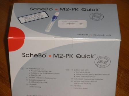 M2-PK Quick, ScheBo, 10 St., Stuhltest zur ...
